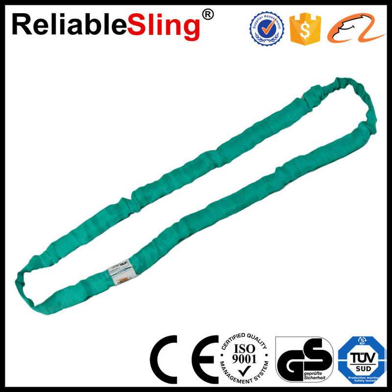 Eye And Eye Sling Polyester Round Slings For Cargo Lifting 1-10T